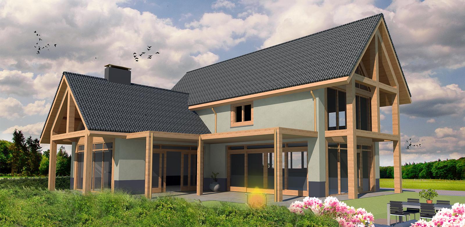 Projecten verbij for Nieuwbouw vrijstaande woning